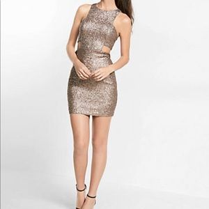 Express Cut-Out Mini Dress S10